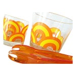 Image of 1970s Ice Bucket & Tumblers