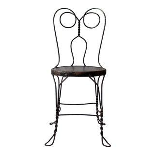 Vintage Ice Cream Parlor Bistro Chair
