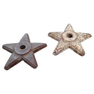 Heavy Architectural Iron Stars - A Pair