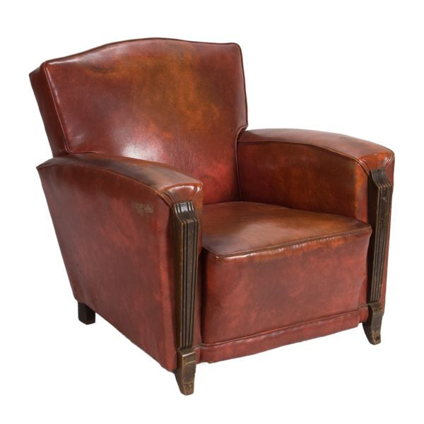 Image of Circa 1900 French Club Chair