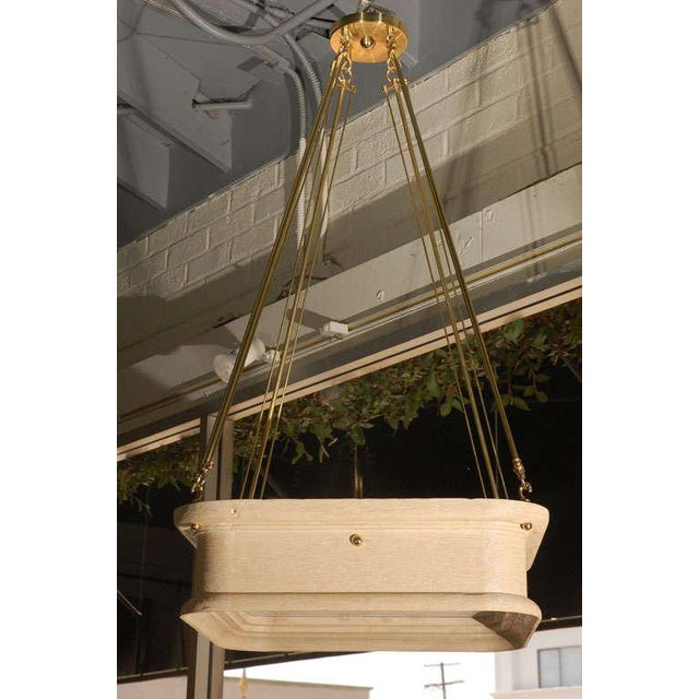 Paul Marra Boch Chandelier in Distressed Natural - Image 6 of 9