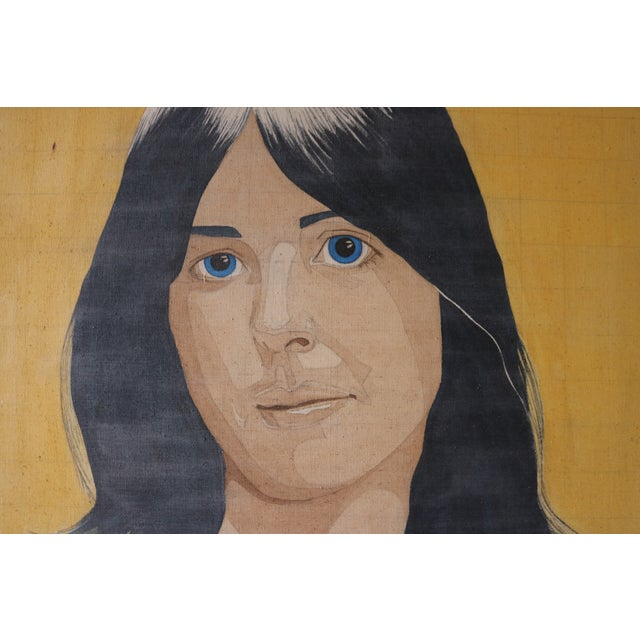 Portrait of a Woman in the Style of Alex Katz - Image 5 of 7