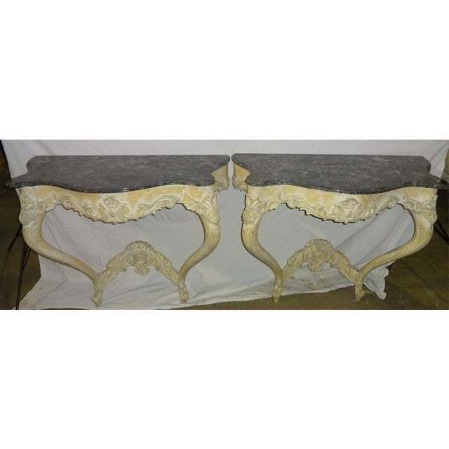 Italian Console Tables - A Pair - Image 3 of 10