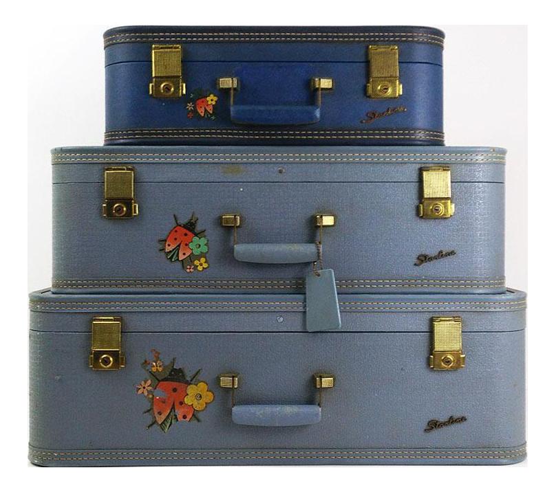 Vintage Suitcase Set 59