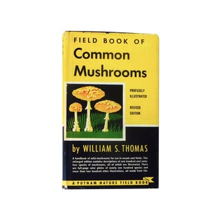 Vintage 1948 'Field Book of Common Mushrooms' Book
