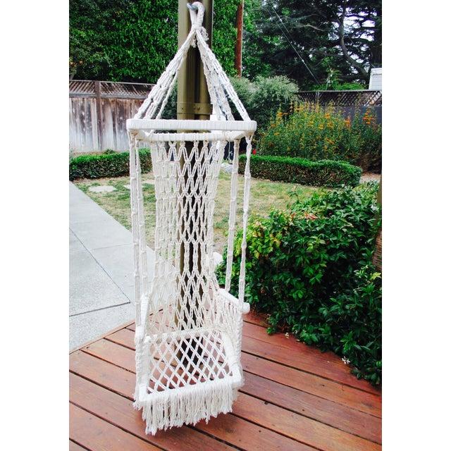 Bohemian Macrame Plant Swing - Image 4 of 11