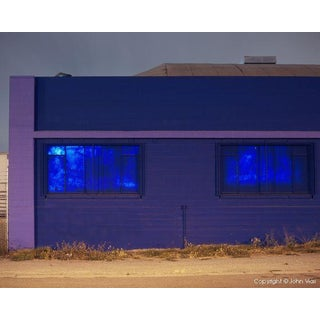 """Painted Windows"" Night Photograph by John Vias"