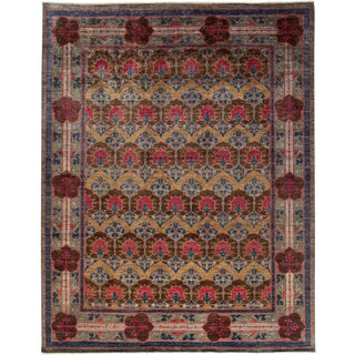 "Arts & Crafts, Hand Knotted Area Rug - 9' 4"" x 11' 9"""