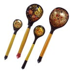 Image of Russian Spoons - Set of 4