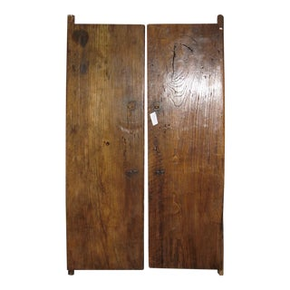 Vintage Chinese Wooden Doors - A Pair