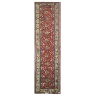 Vintage Persian Tabriz Rug - 3'1''x15'7''
