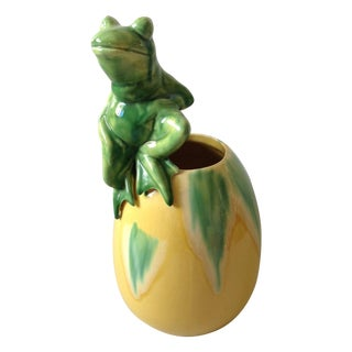 Royal Hickman Haeger Pottery Frog Vase