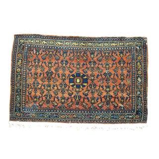 Antique Persian Senneh Rug - 2' x 3'