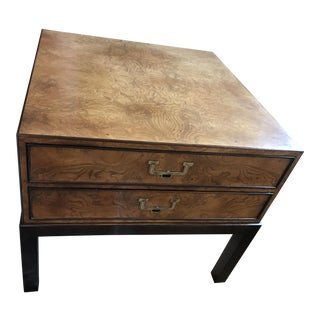 John Widdicomb Table With Drawers