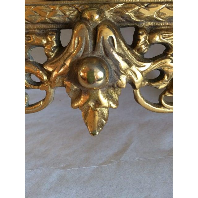 Bradley & Hubbard Brass Wall or Tabletop Mirror - Image 6 of 8