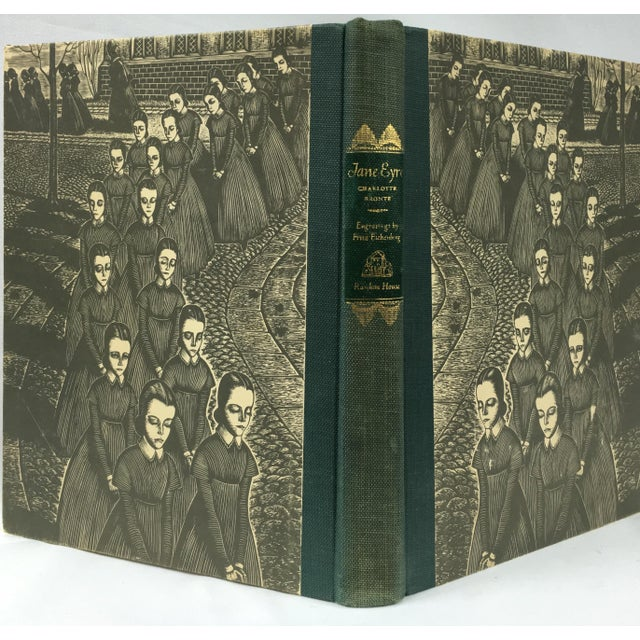 1943 Book With Art, Charlotte Bronte's Jane Eyre - Image 4 of 7