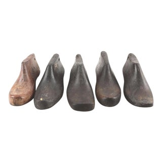 Vintage Shoe Form Molds - Set of 5