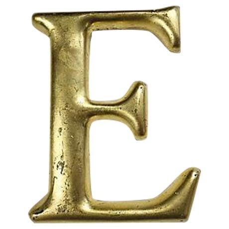 "Vintage English Pub Sign Letter ""E"" - Image 1 of 3"