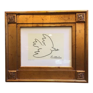 Picasso's Dove of Peace Reporduction