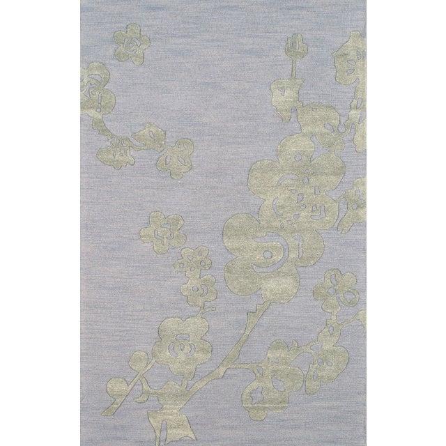 Pasargad Modern Silk & Wool Area Rug- 5'x8' - Image 1 of 1
