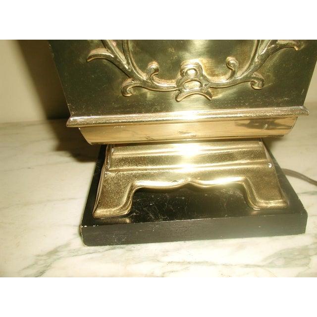 Brass Oriental Lamp Large, 3 Way Lighting - Image 8 of 9