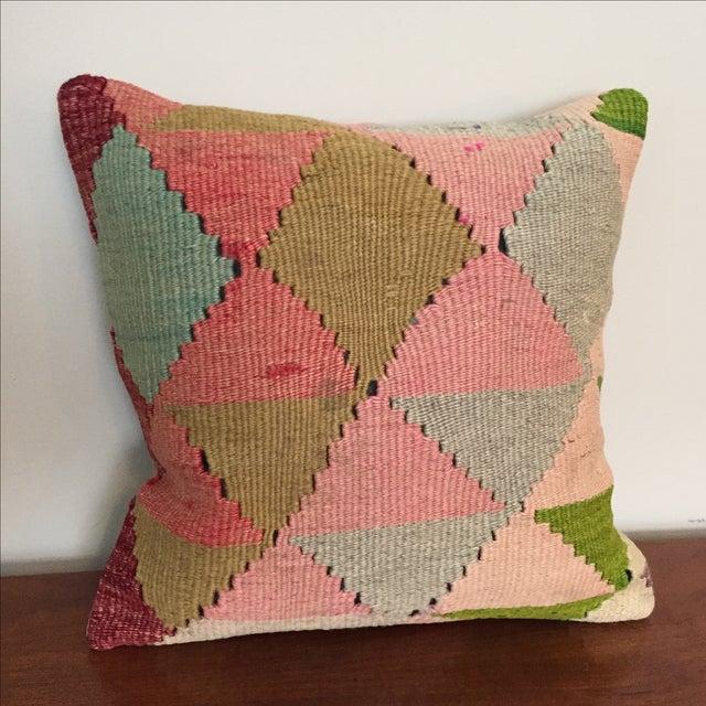 Vintage Kilim Throw Pillow - Image 2 of 5