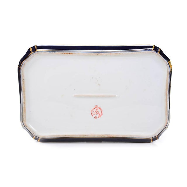 German Painted Porcelain Jewelry Box - Image 10 of 10