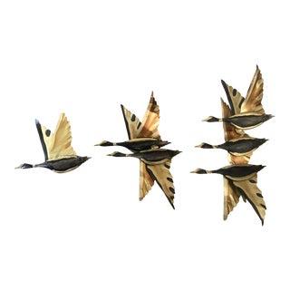 Mid-Century Brass Birds - Set of 3
