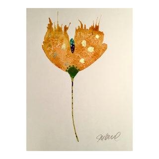 Pumpkin Spice Botanical Watercolor Painting