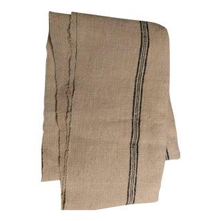 Vintage European Linen Fabric - 4.5 Yards