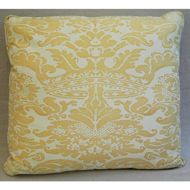 Mariano Fortuny Italian Corone Crown Feather/Down Pillows - Pair - Image 3 of 10