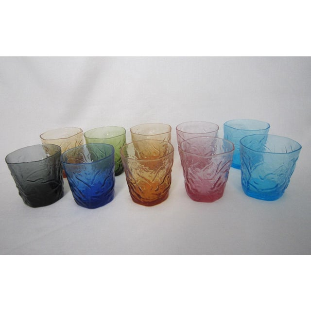 Image of Rainbow Colored Low Balls - Set of 10