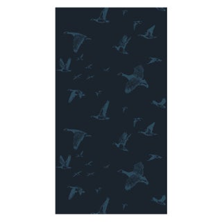 Midnight Flock in Flight Wallpaper - Double Roll
