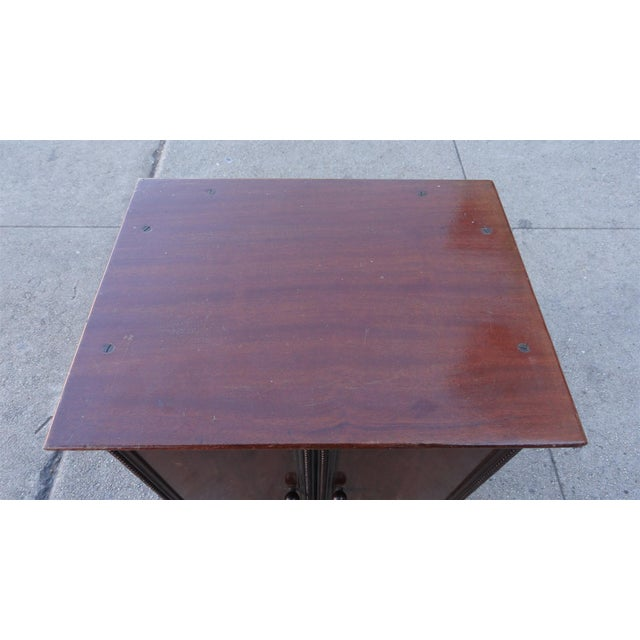 Image of Gecophone Solid Mahogany Small Cabinet