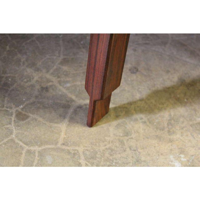 Rosewood and Brass Coffee Table - Image 6 of 10