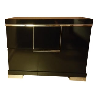 Luxe Modern Italian Style Accent Table with Drawer