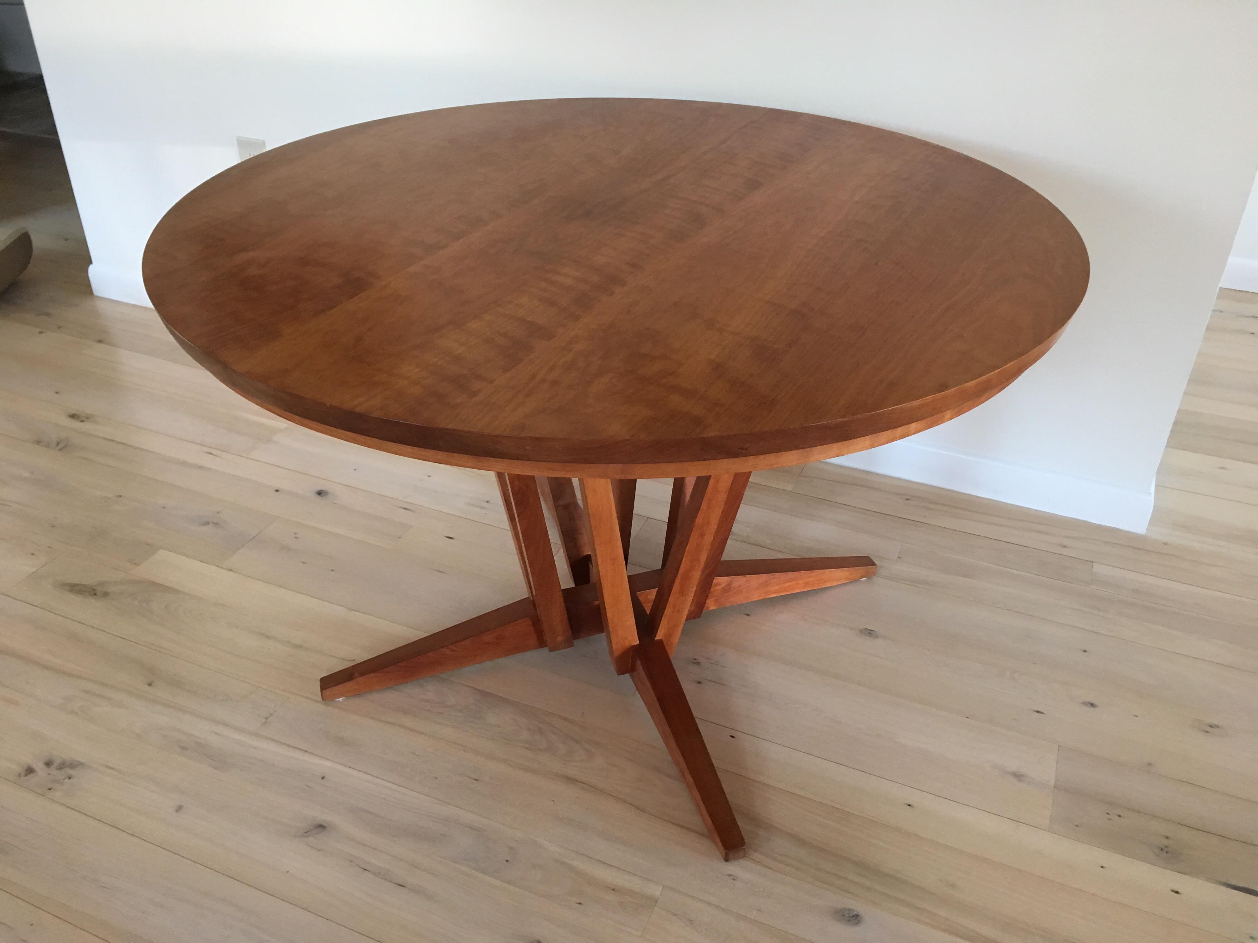 Thomas Moser Edo Table With 4 Dining Chairs   Image 3 Of 10