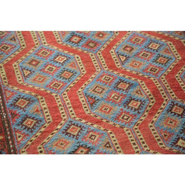 "Vintage Northwest Persian Square Rug - 3'9"" X 5'2"" - Image 5 of 7"