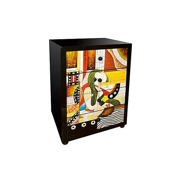 Image of Lacquered Vietnamese Cabinet