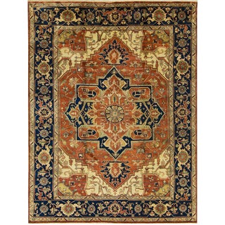 Heria Style Hand Woven Rug - 9' x 11'10""