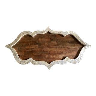 Wood Moroccan Inlay Tray