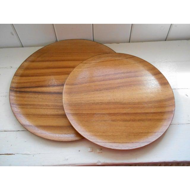 Koa Wood Trays - A Pair - Image 2 of 7