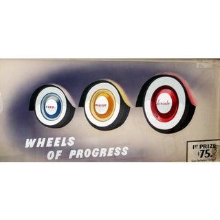1930s 'Wheels of Progress' Illustration Giclee