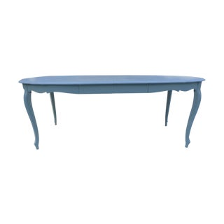 French Style Costal Living Oval Dining Table
