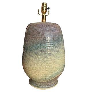 Mid-Century Rocky Mountain Studio Pottery Lamp