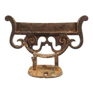 Antique Cast Iron Boot Scraper