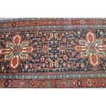 Image of Antique Persian Heriz Karajeh Runner- 3′6″ × 8′10″