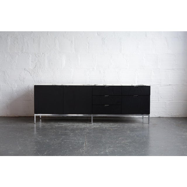 Knoll Marble Top Credenza - Image 2 of 4
