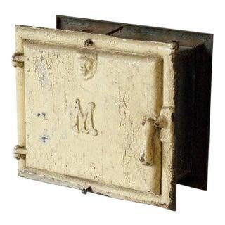 1900's Cast Iron Double Sided Milk Box