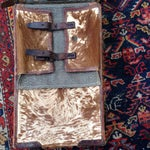 Image of Austrian Leather & Reindeer Skin Backpack